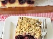 Cherry Crumb Cake Easy Fully Loaded with Cherries