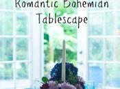 Romantic Bohemian Tablescape