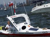 Aleksander Doba Completes Third Atlantic Crossing Kayak