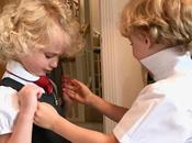 Milestone Moment Twins Start School