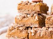 Pumpkin Crumb Bars (Gluten Free, Refined Sugar Free Vegan)