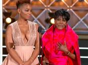 Gracious Emmy Moment With Anika Noni Rose Legendary Actress Cicely Tyson [VIDEO]