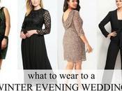 What Wear Winter Evening Wedding