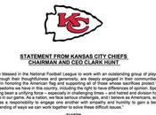 Breaking: Chiefs Releases Statement Protests