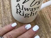 Ultimate White Mani from Ragdoll Nails Leeds