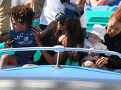 Janet Jackson Ciara Disneyland With Their Sons