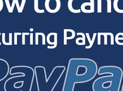 Cancel Recurring Payments PayPal