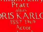 #Halloween Plaque #Frankenstein's Monster #BorisKarloff