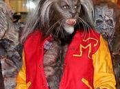 Heidi Klum Dressed Michael Jackson's Thriller Werewolf Halloween