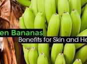Benefits Green Bananas Skin Health