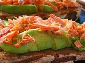 Avocado Stuffed with Smoked Salmon