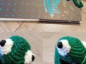 Froggy Squished Bookmark!