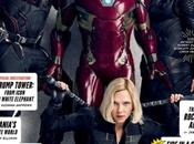 Vanity Fair Huge Editorial with Marvel Franchise Stars January Issue