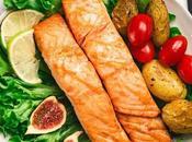 Grilled Salmon with Goan Recheado Masala +Microwaved Potatoes Green Salad