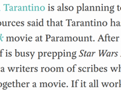 Quentin Tarantino. Star Trek. Nope. They Just Don't Together.