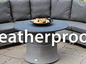 Rattan Furniture Weatherproof?