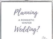 Romantic Winter Wedding Planning Ideas