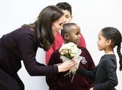 Kate Middleton Brings Holiday Cheer Families London