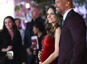 Dwayne Johnson Pregnant Lauren Hashian Jumanji L.A. Premiere