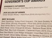 2017 Maryland Wine Governors Award Ceremony