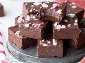 Easy Chocolate Peppermint Fudge (Gluten Free, Paleo Vegan)