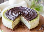 Bake Mint Chip Cheesecake (Gluten Free, Paleo Vegan)