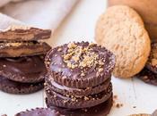 Chocolate Cookie Butter Cups (Gluten Free, Paleo Vegan)