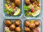 Honey Chipotle Meatball Meal Prep Bowls Video)