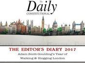 Daily Constitutional Editor's Diary 2017 December: Snow, Bilko, Talking Turkey Returns