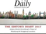 Daily Constitutional Editor's Diary 2017 October: Halloween, Zombies @Posh_Dinosaur, Cough Sweets