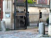 Spiked Stone Bollards Lincoln's Inn...