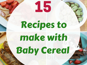 Healthy Recipes Make with Baby Cereal