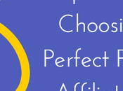 Ideas Choosing Perfect Profitable Affiliate Niche