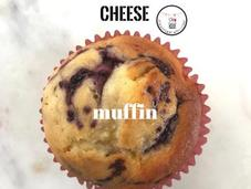 {Spencer Makes} Peach Cream Cheese Muffins with Mixed Berry Swirl