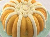 Lemon Bundt Cake with Cream Cheese Frosting #BundtBakers
