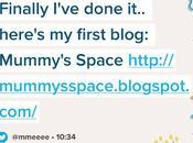 Happy Blog Birthday Mummy's Space