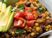 Instant Quinoa Enchilada Casserole
