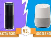 Amazon Echo Google Home: Face-Off! [Infographic]