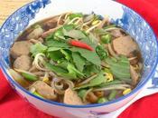 Vien Vietnamese Noodle Beef Meatball Soup #SoupSwappers