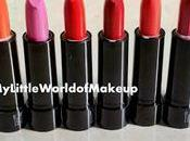 COLOURBOX Lipsticks Oriflame Review Swatches
