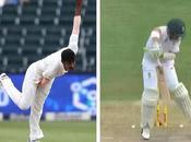 Johannesburg Test Dean Elgar Helmet Play Suspended