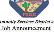 Fulltime Firefighter/Paramedic Morongo Valley Fire Dept.