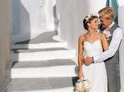 Gorgeous Wedding Santorini Chloe Daniel
