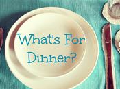 What's Dinner? Week Starting February 2018