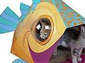 GOOD IDEA... WASTE MONEY? Kitty City Bubble Window House