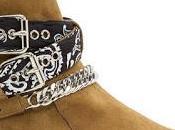 Rock Spot: Amiri Suede Bandana Buckle Boots
