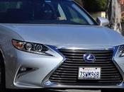 Driving 2017 Lexus 300h