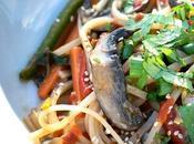 Spicy Veggie Noodles Stir