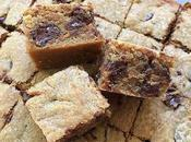 Chocolate Chips Cashew Butter Blondies