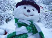 Nightly #London #Photoblog 25:02:18: East Finchley Snowman (From Archive)
